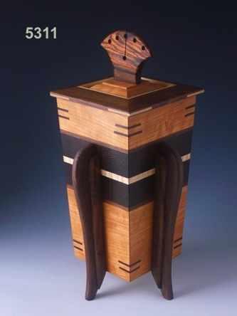 wooden burial urns 2