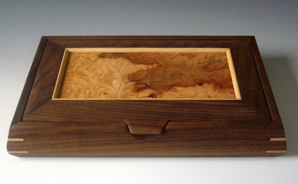 A unique jewelry box handmade of exotic woods makes the - Handmade jewellery box ideas ...