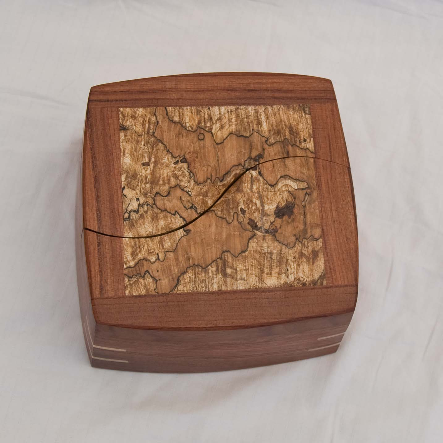one of my handcrafted decorative trinket boxes with lids that swivel open - Decorative Boxes With Lids
