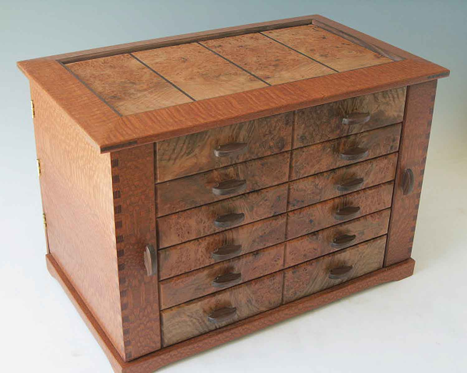 Handcrafted wood jewelry boxes - Prices For This Box Range From 950 1100 Depending On The Wood