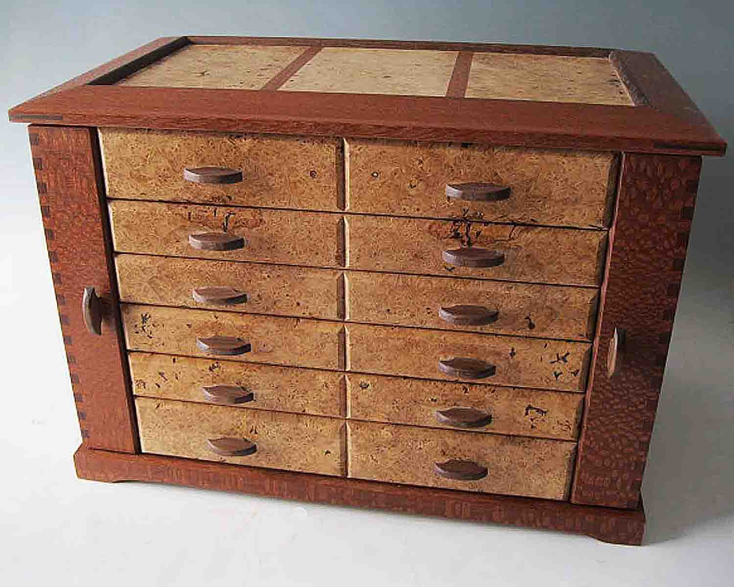 Jewelry Organizer Gorgeous Handcrafted Jewelry Box Stores it All