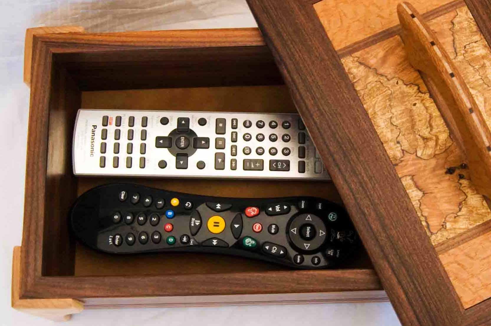 Tv Remote Control Storage Box Designs